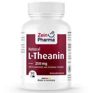 ZeinPharma L-ТЕАНИН – 250mg Аминокиселини за Нервна система, Спокоен и здрав сън от Pharma