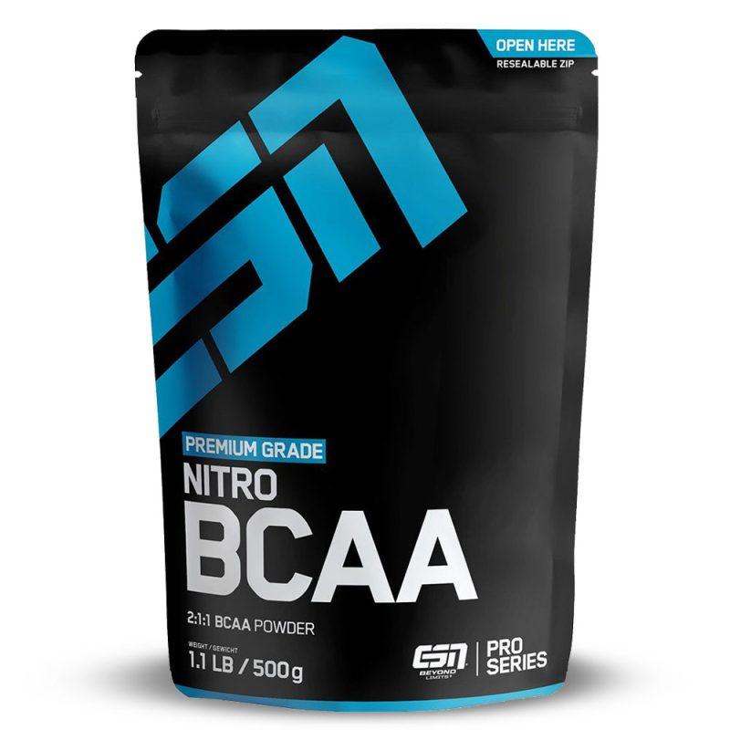 БЦАА Аминокиселини Прах / BCAA Powder ESN - Аминокиселини за енергия и издръжливост с вкус на Къпина, Диня, Ябълка и Череша от ESN