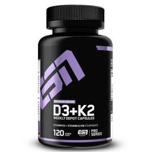 Витамини К2+D3 / Vitamin MK-7 ESN - Витамини и минерали от ESN