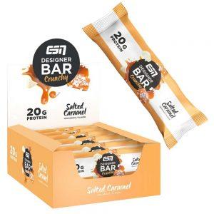 Протеиново Барче CRUNCHY Protein Bar - Диетично протеиново барче солен карамел от ESN