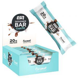Протеиново Барче CRUNCHY Protein Bar - Диетично протеиново барче кокос от ESN